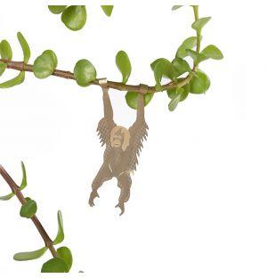 Orang-outan en cuivre