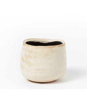 Mini pot Como ivoire