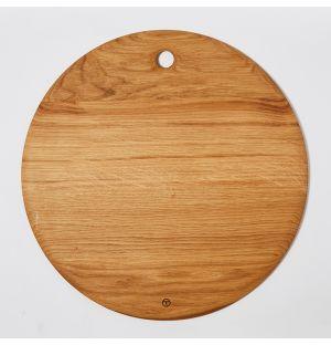 Planche ronde en chêne