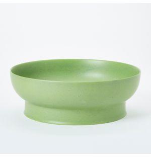 Saladier vert mat - 28 cm