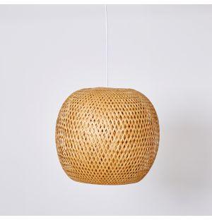 Abat-jour en bambou Orb 33cm