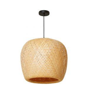 Abat-jour en bambou Orb - 50 cm