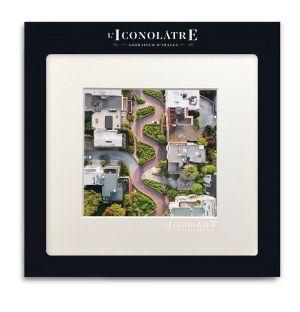 Photo « Lombard Street » - 22 x 22 cm