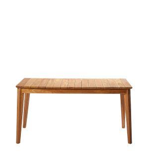 Table d'extérieur en teck - 160 cm