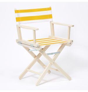 Chaise pliante en hêtre blanc