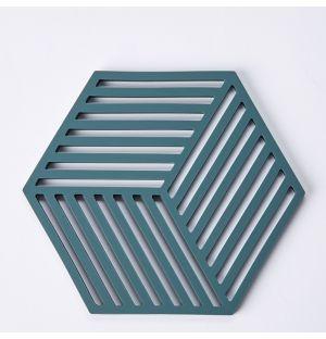 Dessous de plat vert Hexagone