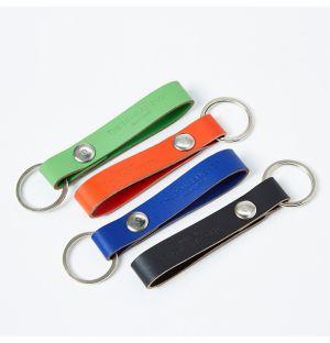Porte-clés en cuir recyclé