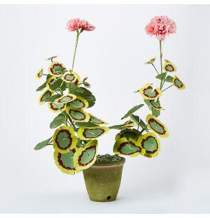 Plante en papier - Géranium