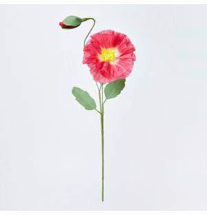 Fleur en papier - Coquelicot