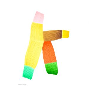 Affiche multicolore RB