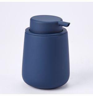Distributeur de savon bleu marine Nova