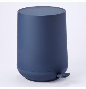 Poubelle bleu marine Nova
