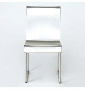Chaise vintage en aluminium Superlight