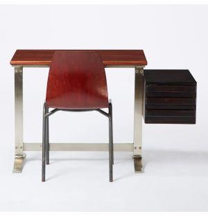 Bureau et chaise pour enfant vintage