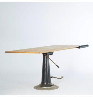 Table d'architecte vintage