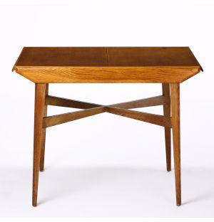 Table basse vintage extensible en teck