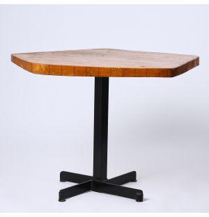 Table vintage en pin