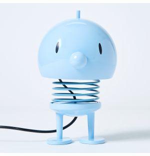 Lampe de table Bumble bleu clair - 13,5 cm