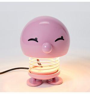 Lampe de table Bumble rose - 13,5 cm