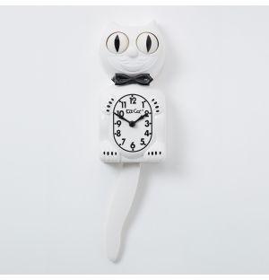 Horloge blanche Kit-Cat Classic