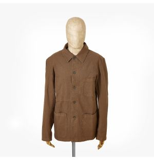 Veste de travail 5C pour homme - marron