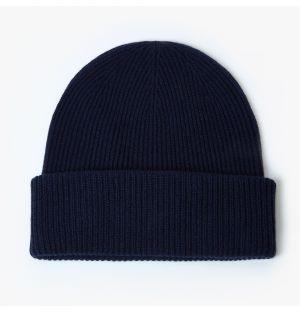 Bonnet en cachemire noir
