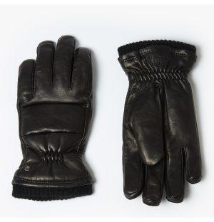 Gants pour femme Torun en cuir noir