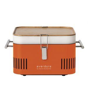 Barbecue portable Cube orange