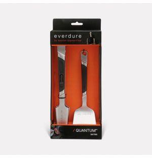 Pince et spatule premium pour barbecue