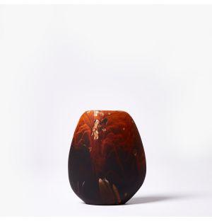 Vase en résine Dark Horn