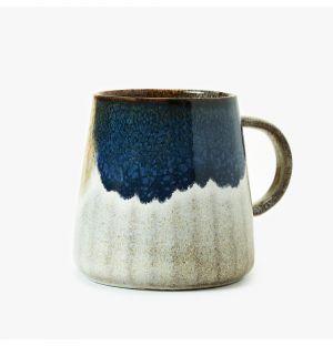 Mug Gobi en céramique bleue