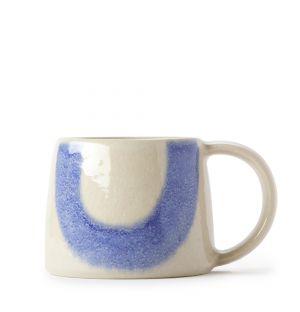 Mug Block orange et bleu
