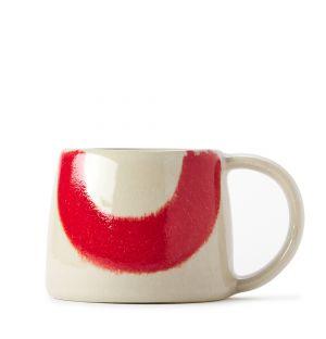 Mug Block rouge et aqua