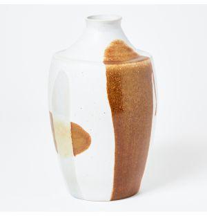 Vase Shogi marron