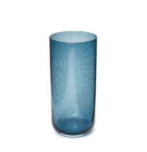 Vase Bubble bleu
