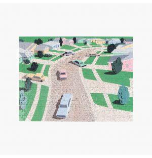 Puzzle « Pastel Suburbia »
