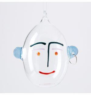 Décoration Visage en verre borosilicate