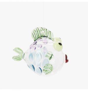 Décoration poisson en verre borosilicate