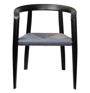 Chaise MHC.3 Miss en frêne noir - Modèle d'exposition