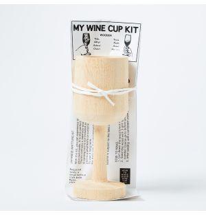 Verre de vin à sculpter