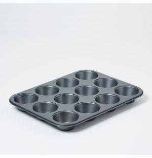 Moule à muffins anti-adhésif