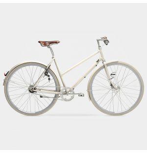 Vélo femme Arrow Sport 7 vitesses ivoire - M