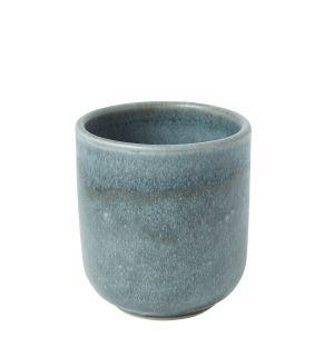 Tasse en grès bleu