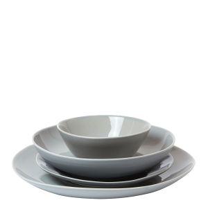 Collection de vaisselle Pintura en faïence émaillée grise