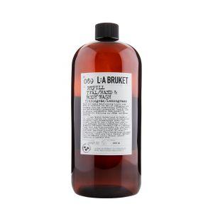 Recharge nettoyant pour les mains & le corps N°69 citronnelle 1000ml