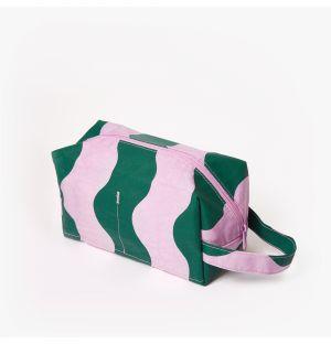 Trousse de toilette rose et verte Dopp Kitt