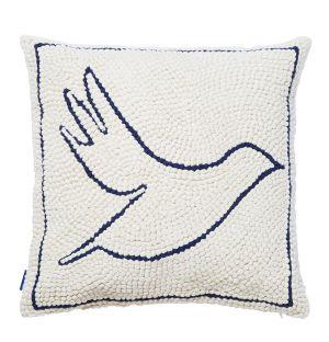 Housse de coussin Oiseau - 45 x 45 cm