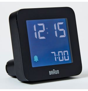 Alarme digitale en noir