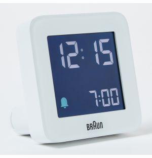 Alarme digitale en blanc