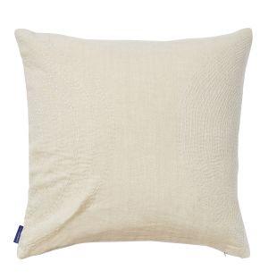 Housse de coussin Kantha écume - 45 x 45 cm